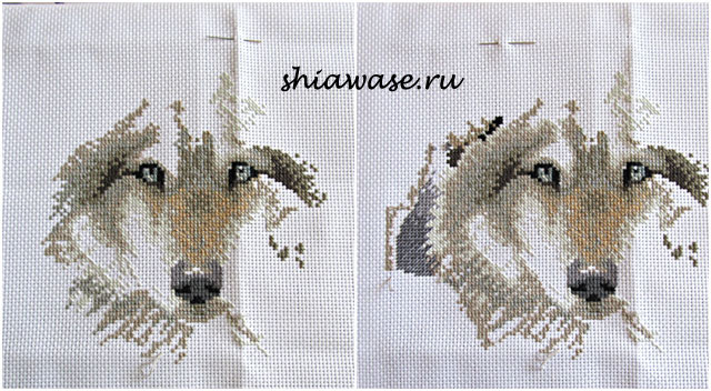 вышиваю-волков