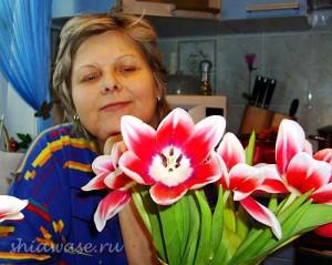 с-тюльпанами