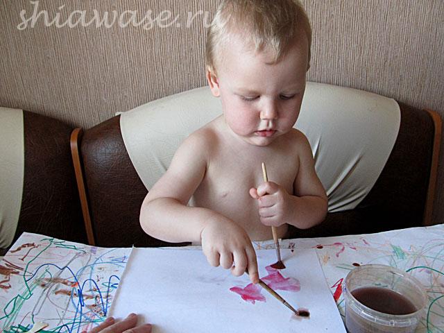 сын-рисует