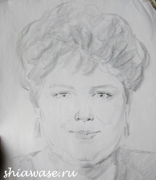 рисунок-карандашом-мама