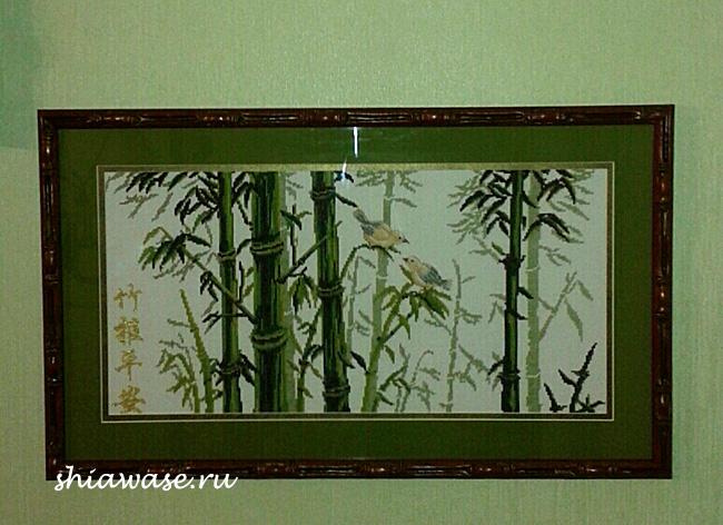бамбук-оформленный