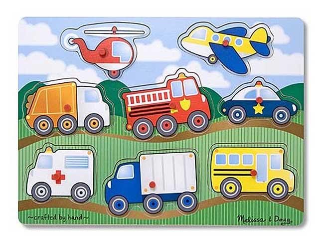 рамка-паззл-транспорт