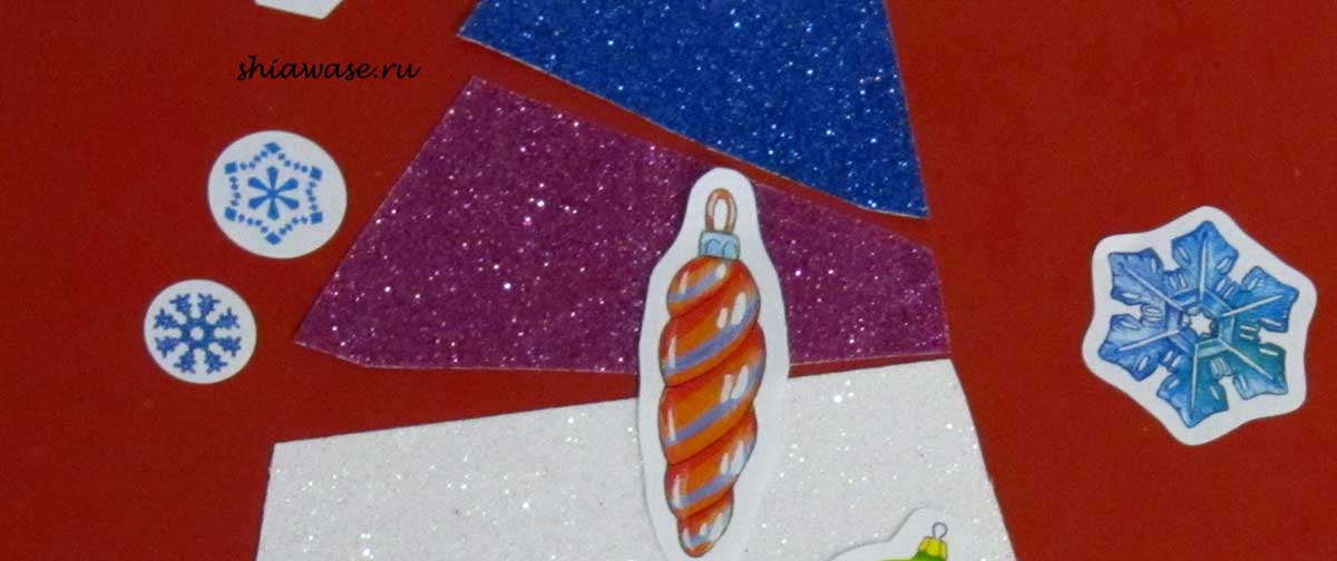 Новогоднюю-открытку-делаем-с-ребенком