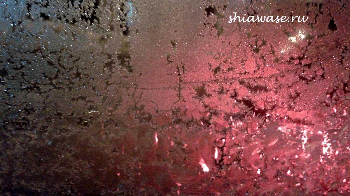 снежные окна