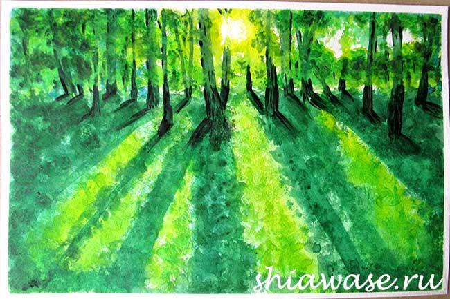 лес как выйти из депрессии