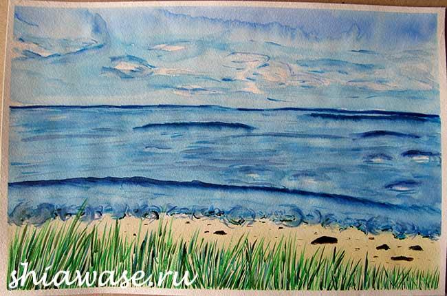 как выйти из депрессии рисовать море