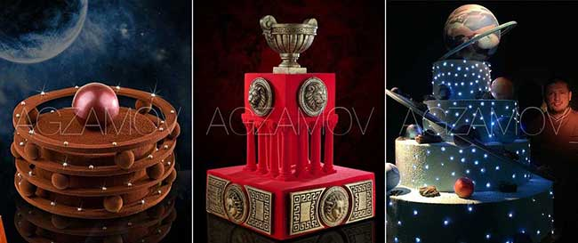 подарок победителю торт Рената Агзамова
