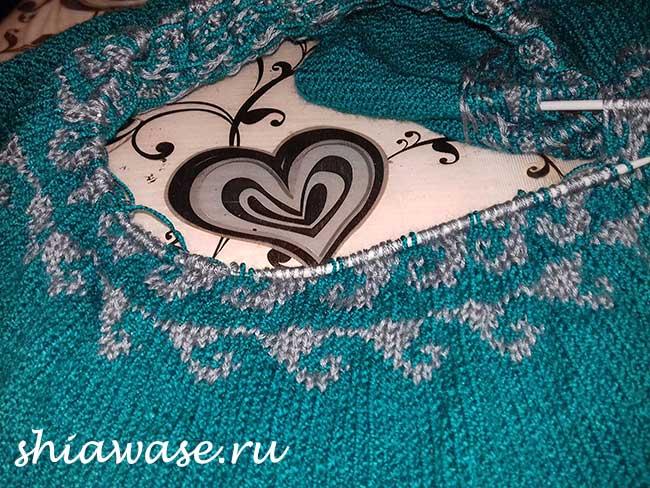 вяжу-платье