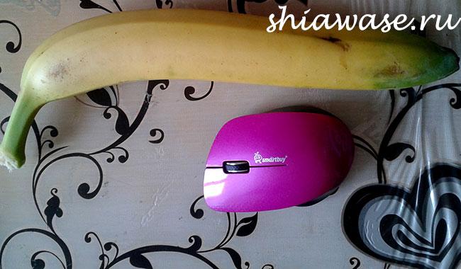 Этот банан, длиной 36 см вряд ли был полезным. Но вкусным был точно! :P :D